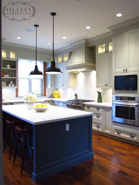 Two Tone Grey Kitchen Cabinets Jillian Harris Two Tone Kitchen Design With Light Gray Shaker Kitchen Cabinets Charcoal Gray