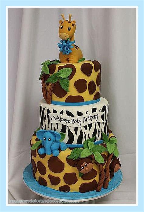 tortas en decoracion en safari tortas infantiles safari tortas decoradas