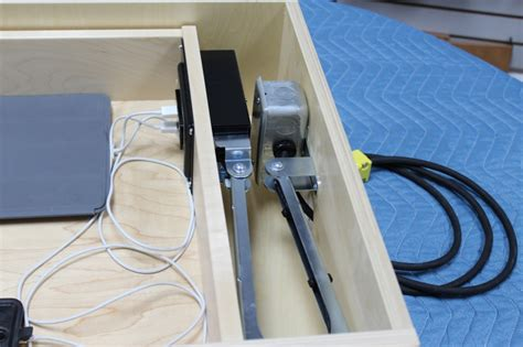 Where To Place Knobs And Pulls On Kitchen Cabinets by Cabinets Of The Desert Docking Drawer The In Drawer