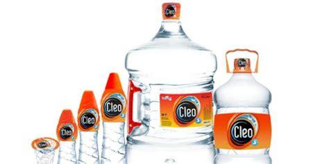 Air Kemasan Cleo Produsen Air Minum Quot Cleo Quot Menggugat Pemilik Merek
