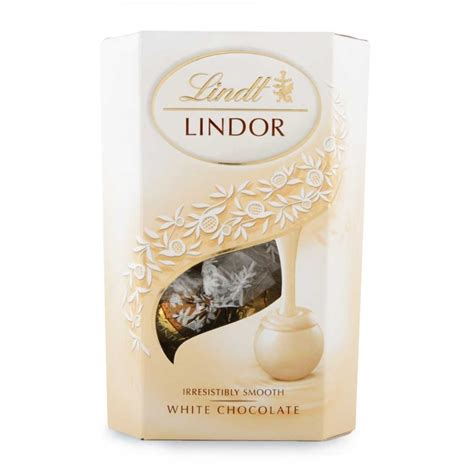 Powder Bath by Lindt Lindor White Chocolate 200g Woolworths Co Za
