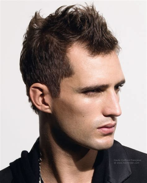 modern man haircut high forehead cortes de pelo hombre tendencias modernas del 2017