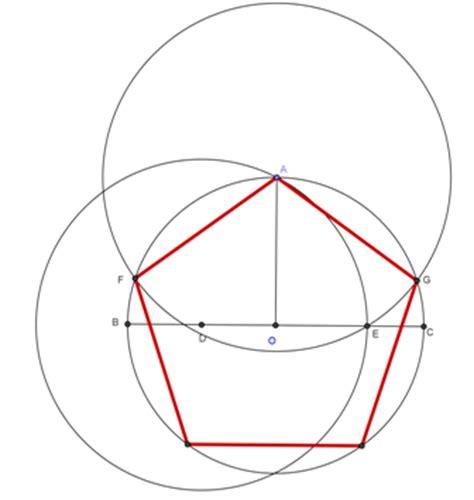 how to construct a pentagon constructingapentagon