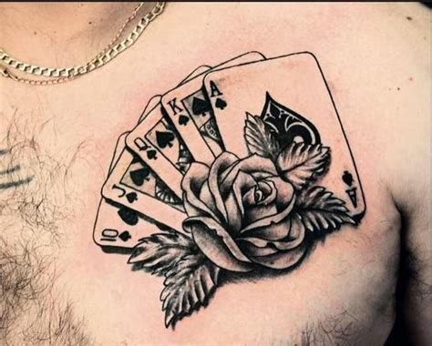tattoo old school diseños old school playing card tattoos found on tattoopics org