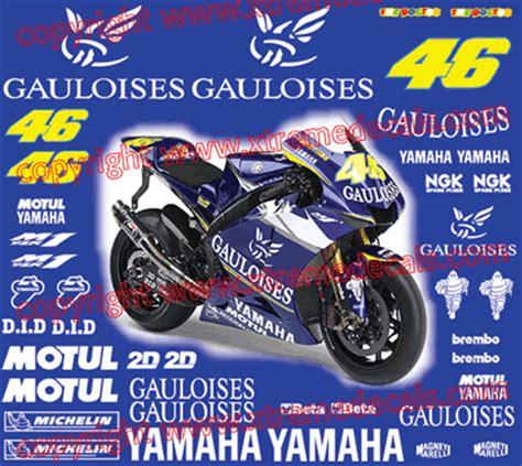 Yamaha Thundercat Aufkleber by High Quality Yamaha Sponsor Kits Can Be Clearcoated