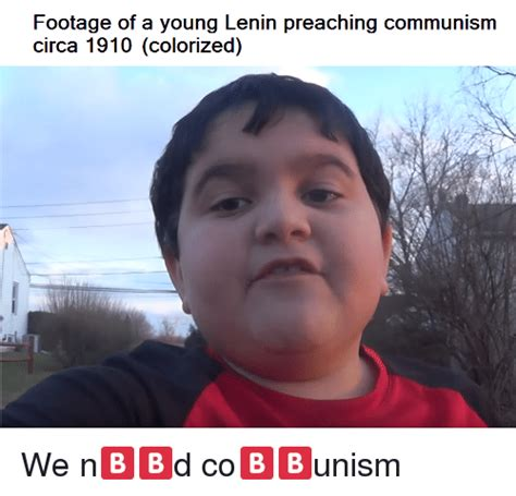 Circa Memes - footage of a young lenin preaching communism circa 1910 colorized dank meme on sizzle