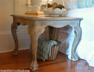 Chalk paint table
