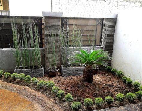 desain taman kolam halaman rumah minimalis godeanwebid