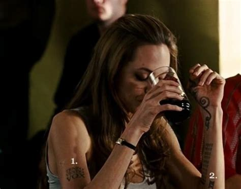 angelina jolie tattoo in wanted movie the most vivid tattoos from movies 17 photos page 1