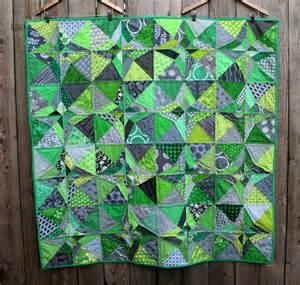 What Are Coverlets Green Amp Grey Finished Wombat Quilts