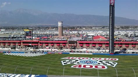 auto motor club from seats at auto club speedway in fontana ca picture