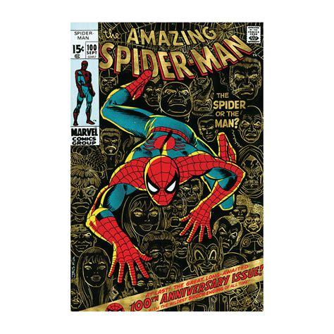 Enya Marvel 26 H marvel comics retro the amazing spider 1971 100 18 quot w x 26 quot h x 0 75 quot d marvel