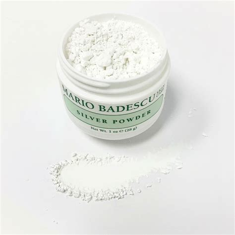 Mario Badescu Silver Powder Berkualitas how to use silver powder mario badescu skin care