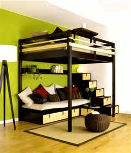Loft Bed Size by King Size Loft Bed Home Design Remodeling Ideas