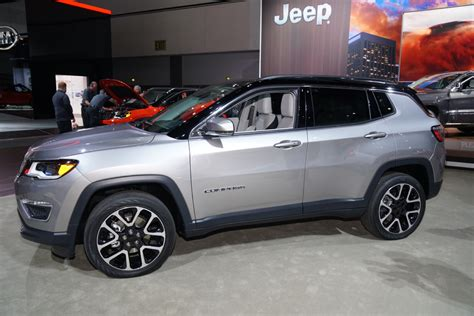 kia jeep 2017 2017 jeep compass video preview 2016 los angeles auto show