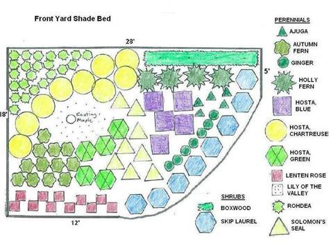 landscape  shady yard diy