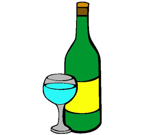dibujos realistas botella dibujo de vino pintado por botella en dibujos net el d 237 a