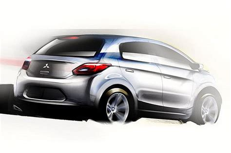 subcompact cars mitsubishi to build a new global subcompact car in