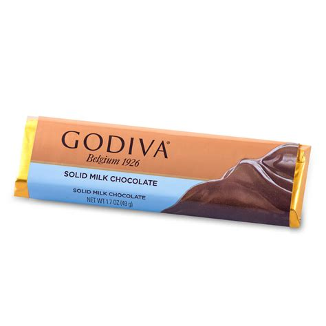 godiva bar milk chocolate 49 g delivery in europe