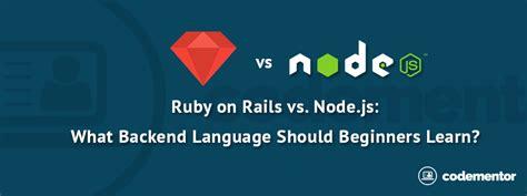 node js backend tutorial learn ruby on rails gallery