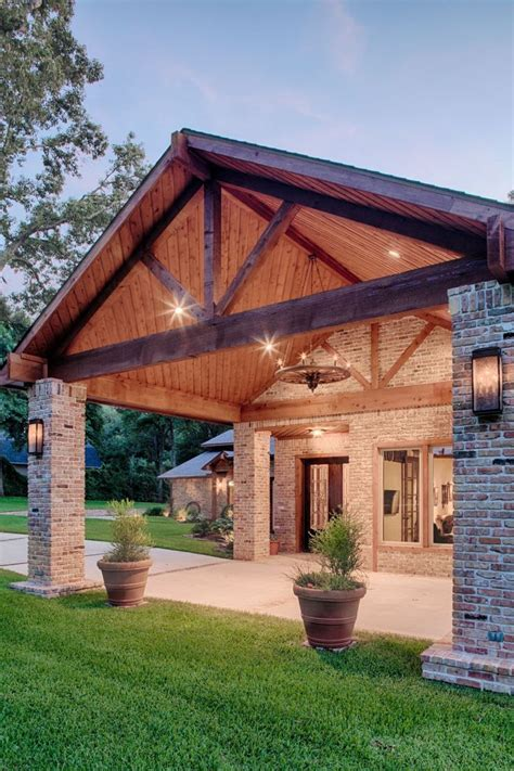 carport designs attached  house  backyard