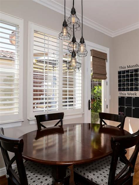 breakfast nook lighting photo page hgtv