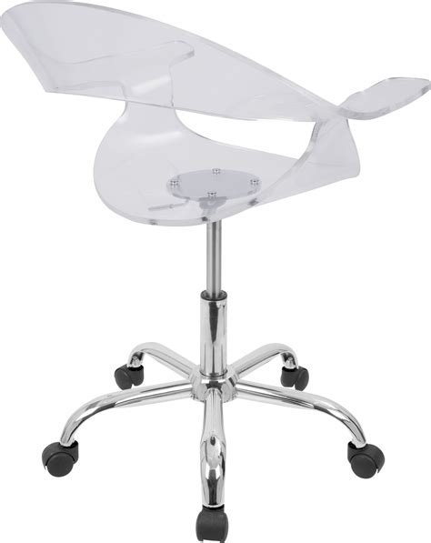 Office Stools Adjustable Height by Rumor Height Adjustable Office Chair With Swivel Compass