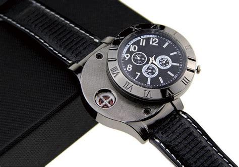 jam tangan mancis usb black jakartanotebook