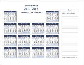 academic calendar template calendar picture templates