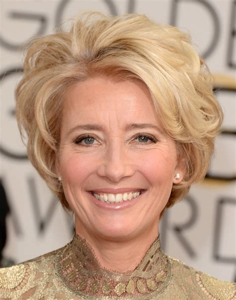 pics of non celebraty short hairstyles emma thompson short hairstyle