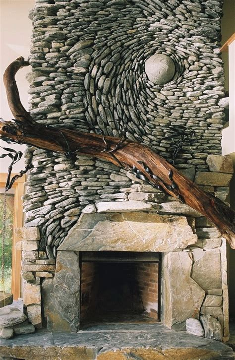 Fireplace Gravel by Breathtaking Mosaics Turn Nature Into