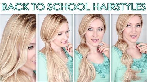 back to school hairstyles for long hair 2014 hairstyles for long hair for school cute quick bubble