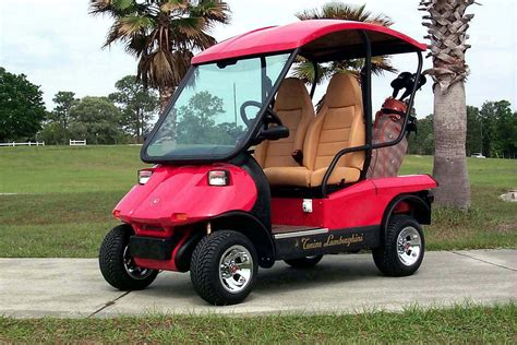 Lamborghini Golf Cart 6 Things You Didn T About Lamborghini