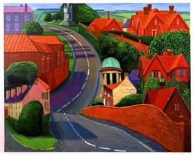 Landscape Pictures By David Hockney David Hockney Paintings Landscape Www Imgkid The