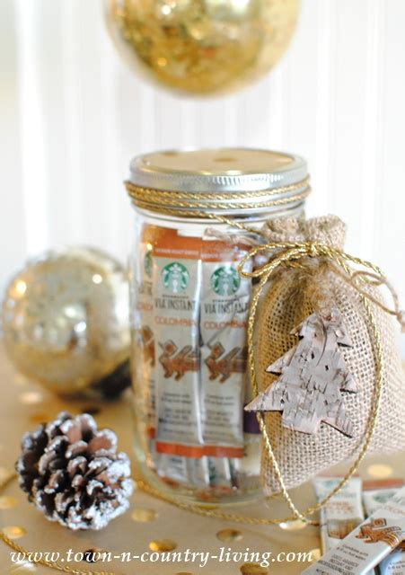 Ffee Lovers  Ee  Gift Ee   In A Mason Jar Town Untry Living
