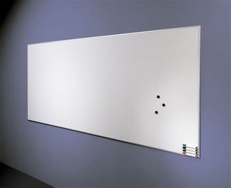 contemporary whiteboard aluminum snap frame whiteboard - Modern Whiteboard
