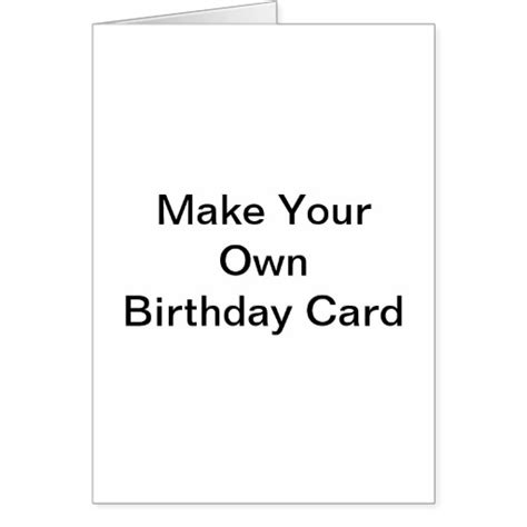 Birthday Card Free Make Your Own Birthday Card Free