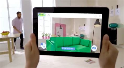 ikea augmented reality 2014 catalog lets you see furniture in your home designtaxi com