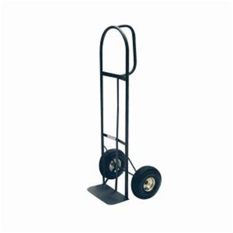 milwaukee 800 lb capacity d handle truck hd800p