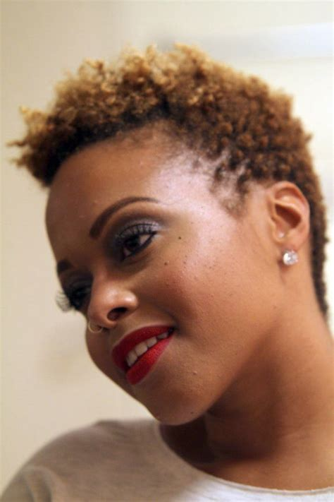 how to taper 4c hair 4c gorge tapered twa love it chrisette haute hair