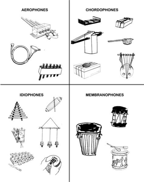 instrument family coloring page other worksheet category page 633 worksheeto com