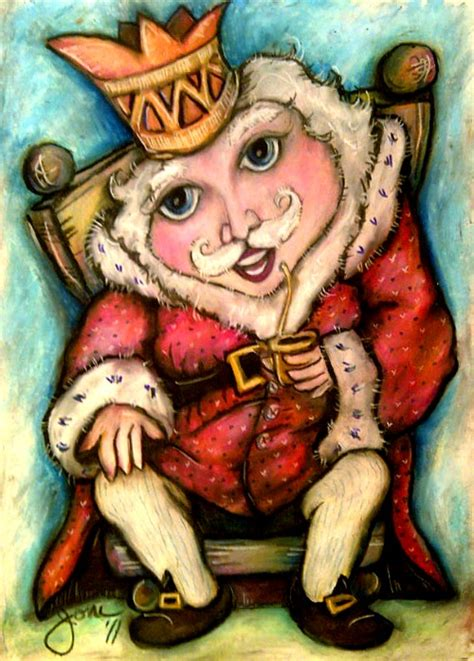Old King Cole Nursery Rhyme by Old King Cole A Colorful Old Soul Pop Art Minis Style