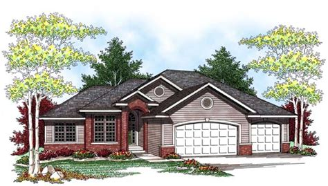 Ranch House Plan Chp 38074 At Coolhouseplans Com Cool House Plans Ranch