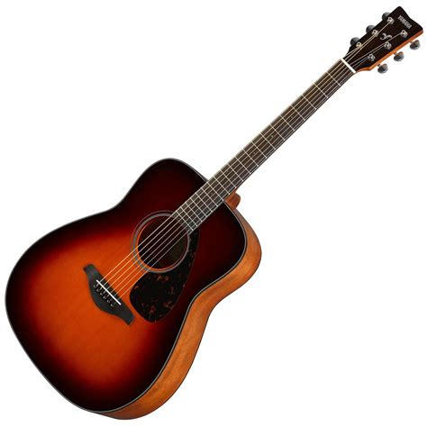 Gitar Accoustic yamaha fg800 acoustic guitar brown sunburst at gear4music