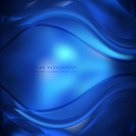 Navy Abstract abstract navy blue wave background 123freevectors