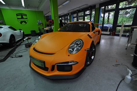 porsche gt3 rs matte 2016 porsche 911 gt3 rs gets retro look with racing orange
