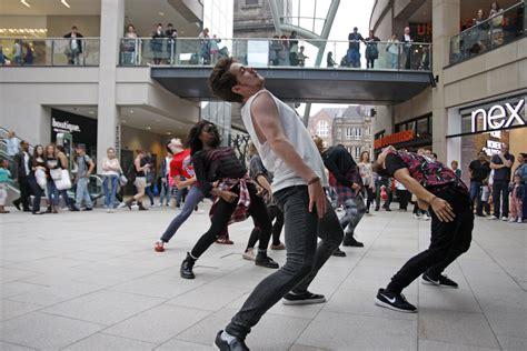 tutorial dance flash mob yorkshire young dancers flashmob at trinity leeds child