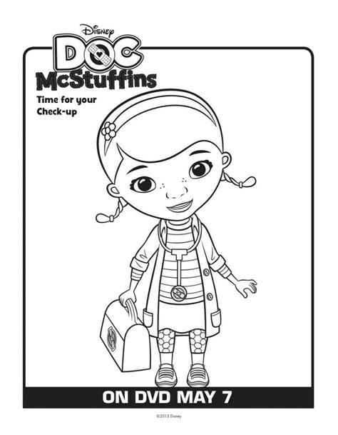 doc mcstuffins happy birthday coloring pages doc mcstuffins picture coloring home