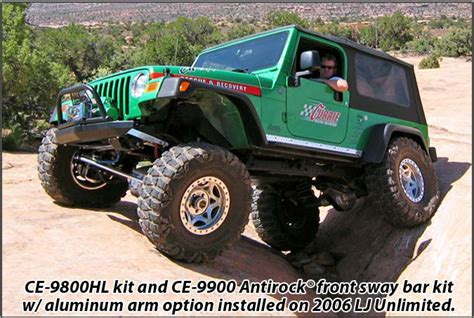 rockjock ce hl johnny joint  suspension system