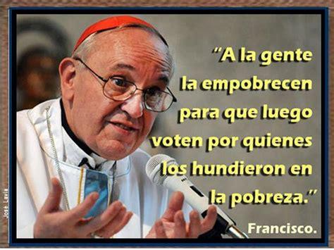 lo que el papa papa francisco haciendo patria